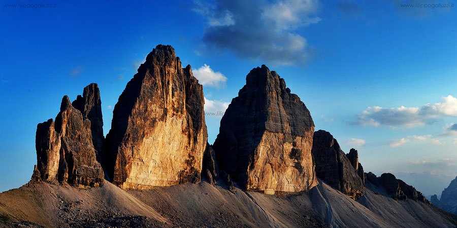 Tre cime di Lavaredo, Drei Zinnen