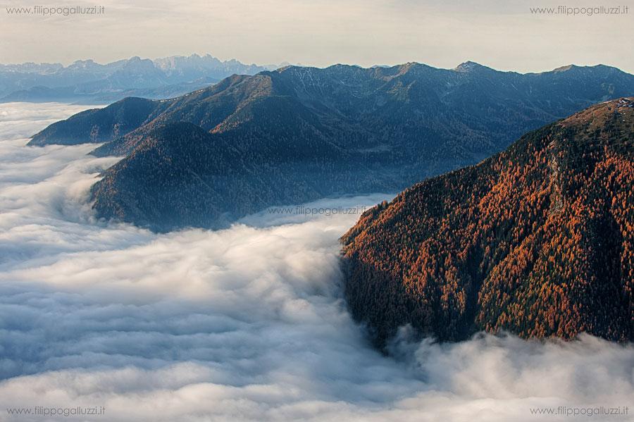 Valle Aurina, Steinerholm, splendida vista sulla valle dei Molini