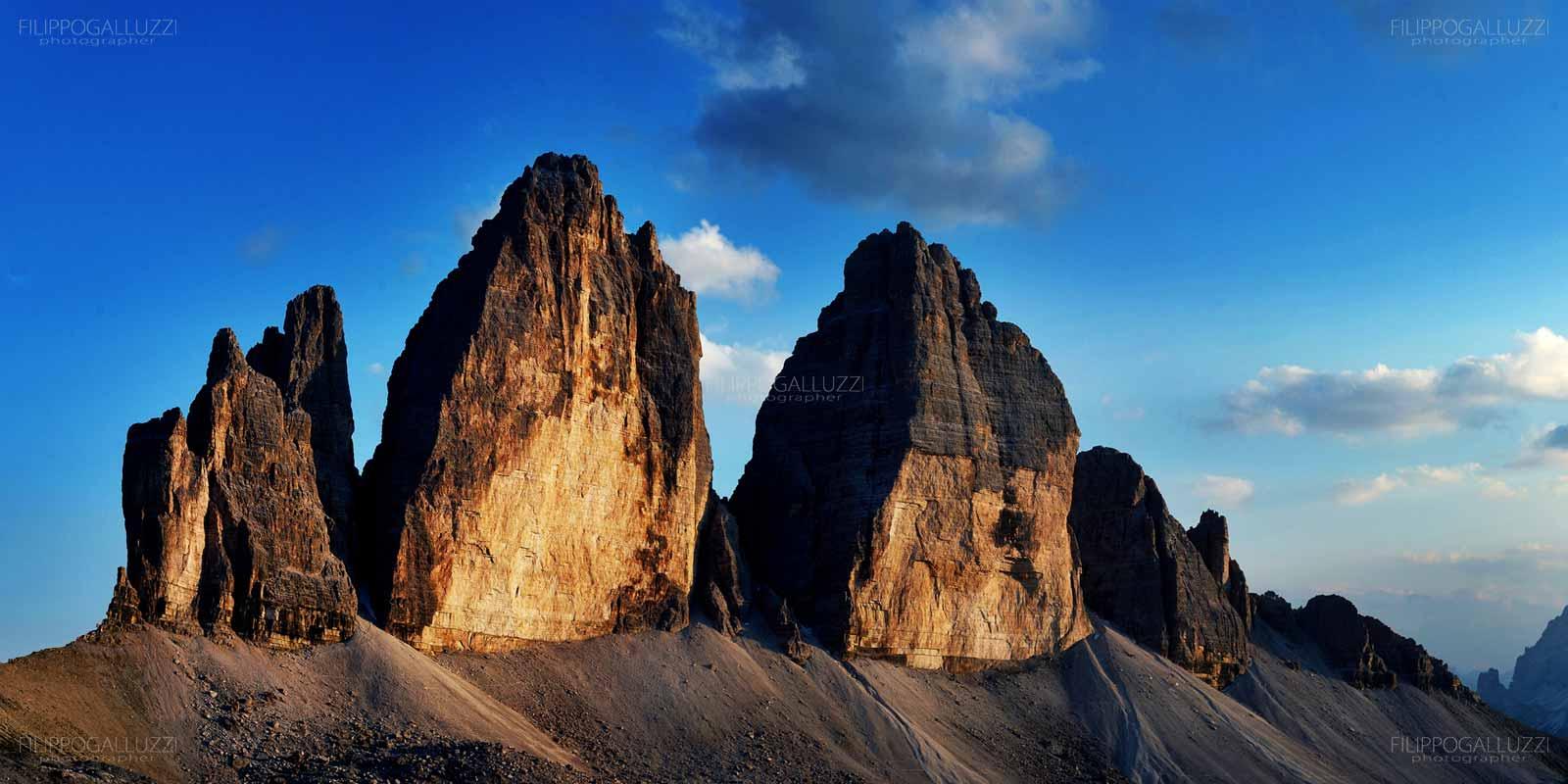 Tre cime di Lavaredo, Trei zinnen