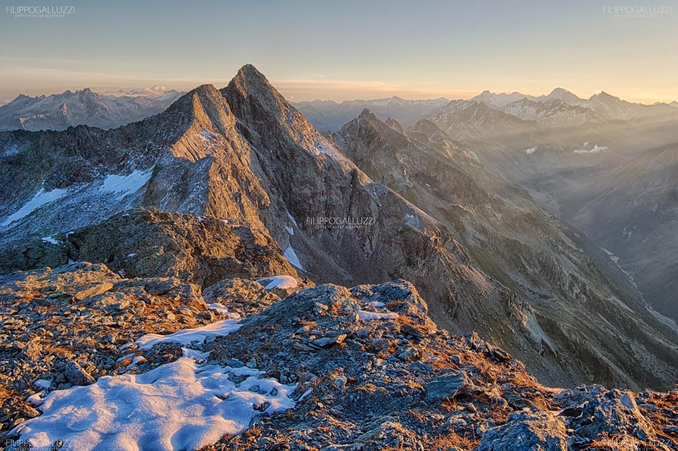 La cima dura, Tauferer Ahrntal, Sudtirol