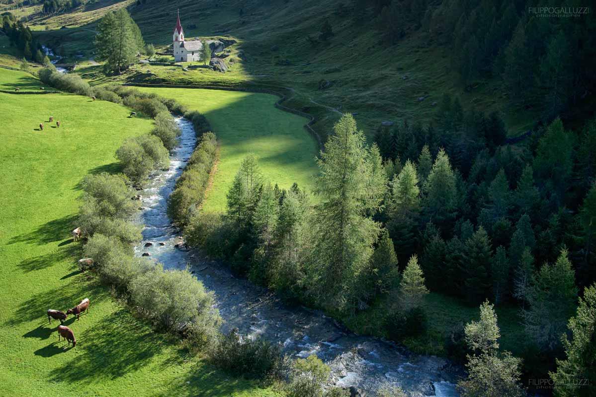 Valle Aurina, Alto Adige - La chiesetta di Santo spirito presso Kasern