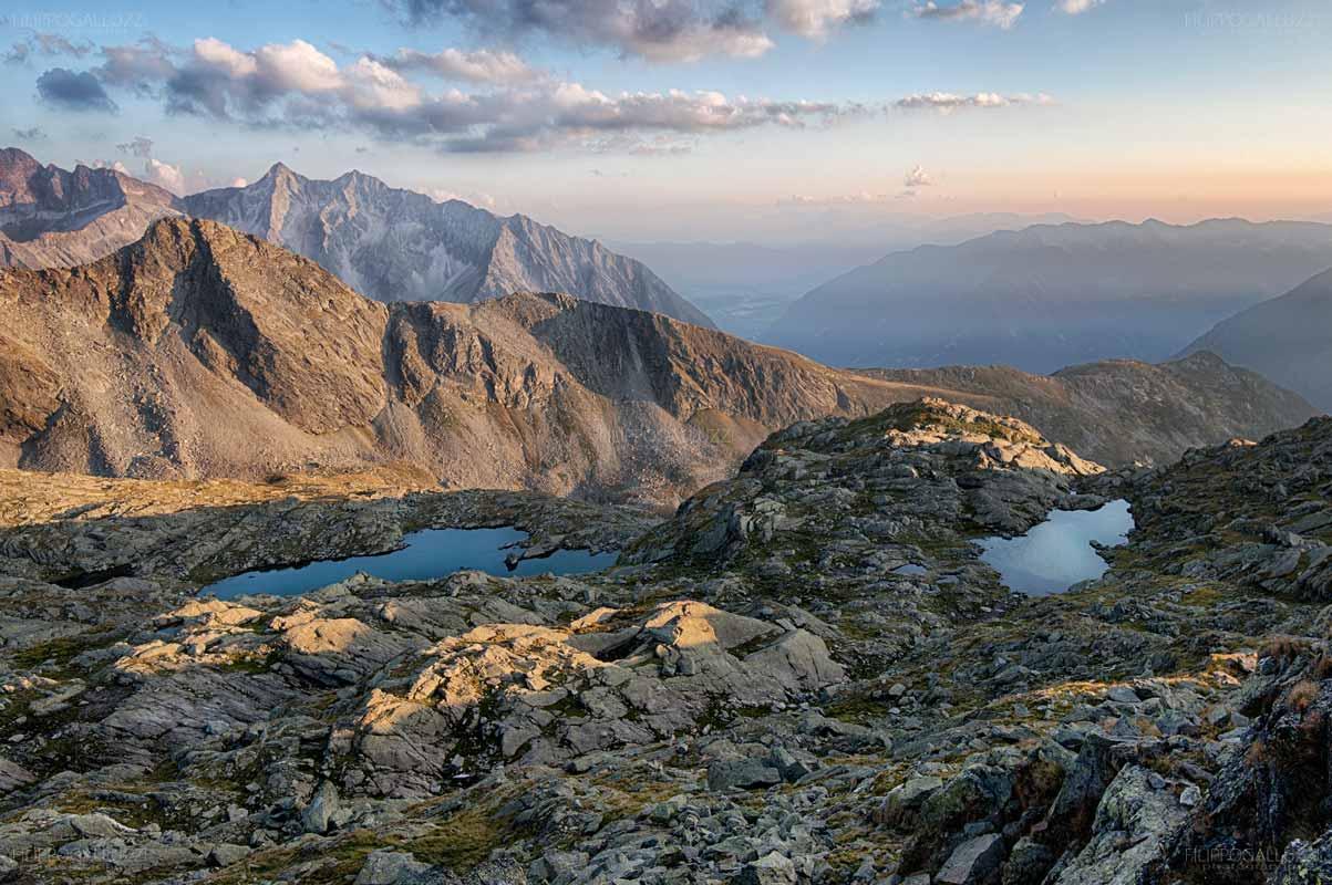 Laghetti Alpini nella Valle di Poja, valli di Taufer e Aurina