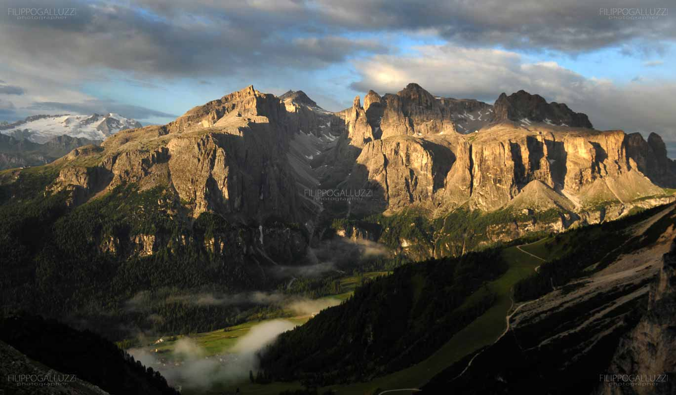 Dolomiti, Alta Badia, Colfosco e la Val di Mezdi