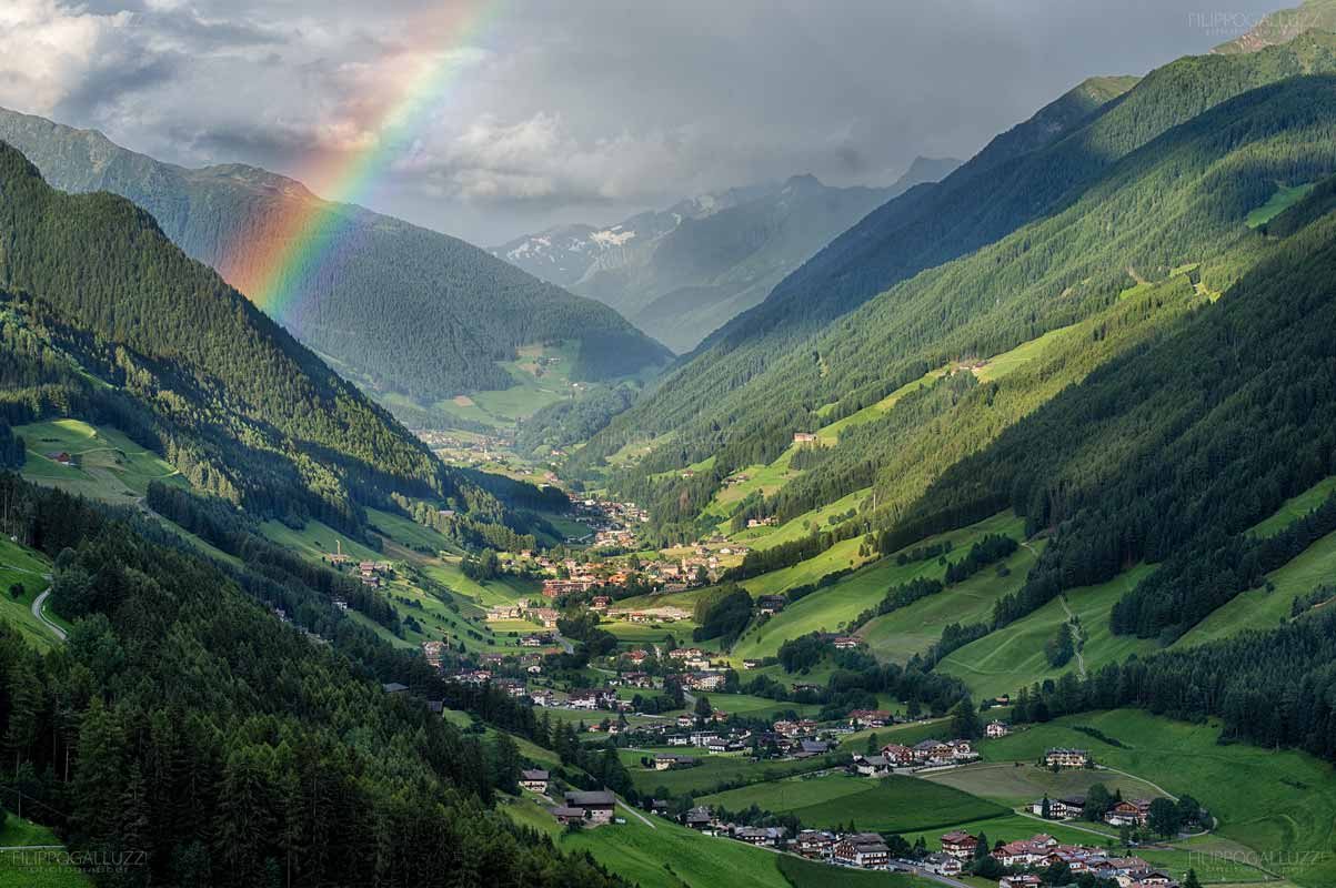 Arcobaleno in Valle Aurina