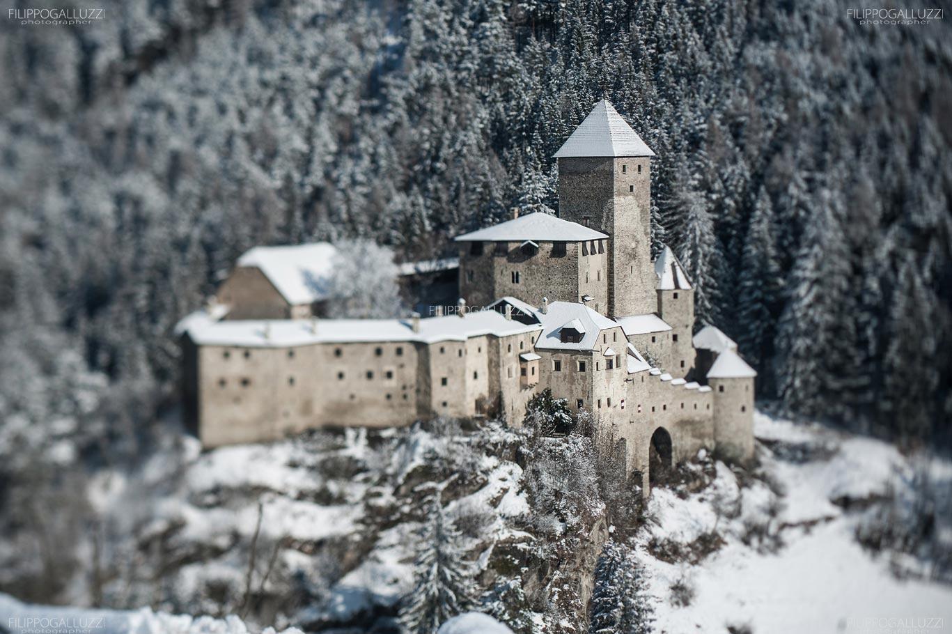 Il castello di Campo Tures in veste Invernale