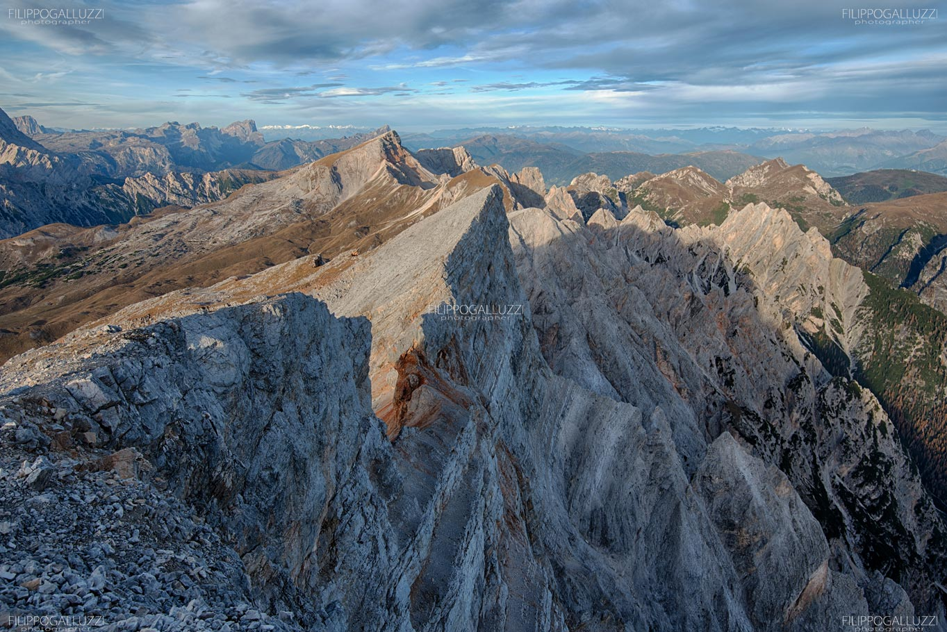 Alta Pusteria, Parco naturale di Sennes Braies, la croda del Becco