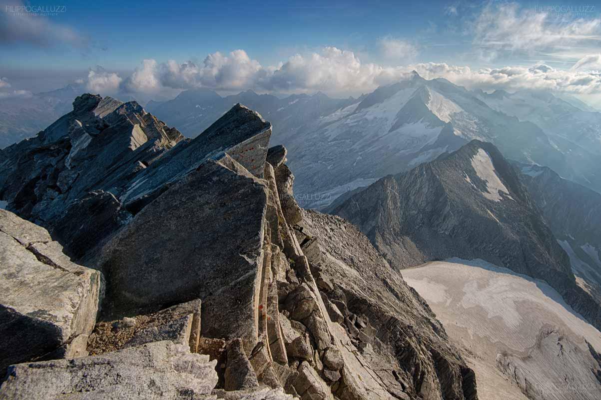 Valle Aurina, Il Gran Mesule sul confine Italia Austria