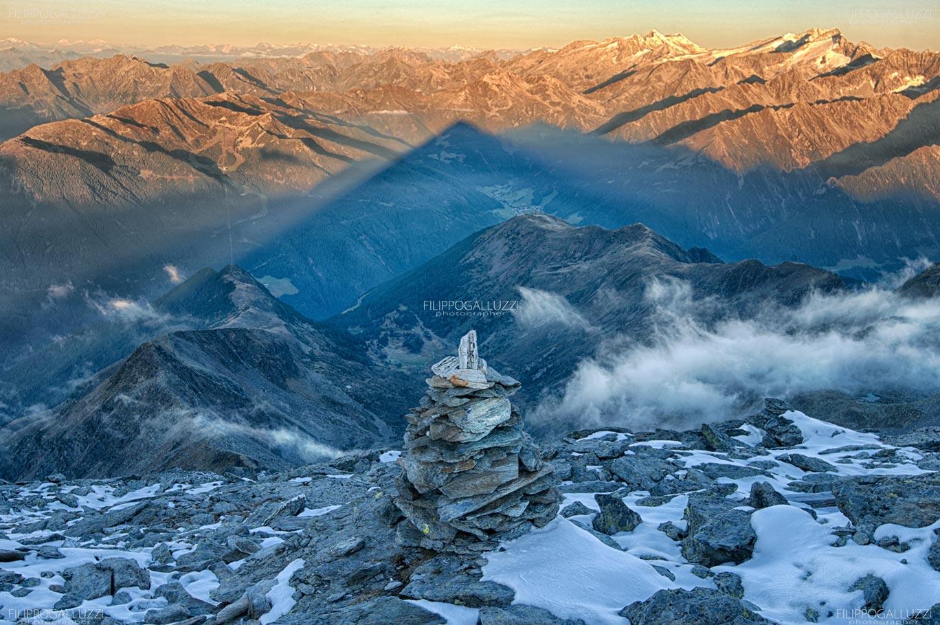 Ombre lunghe , Valle Aurina, Alto Adige