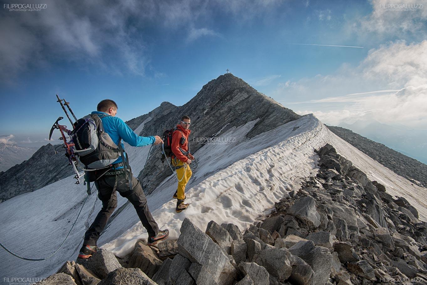 Lappago, salita sui ghiacciai della valle Aurina, Sudtirol
