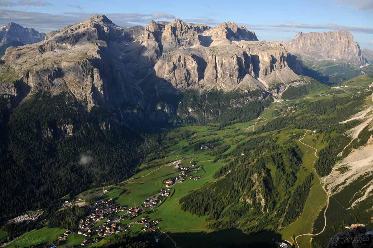 Dolomiti Alta Badia, Il gruppo di Sella e Colfosco