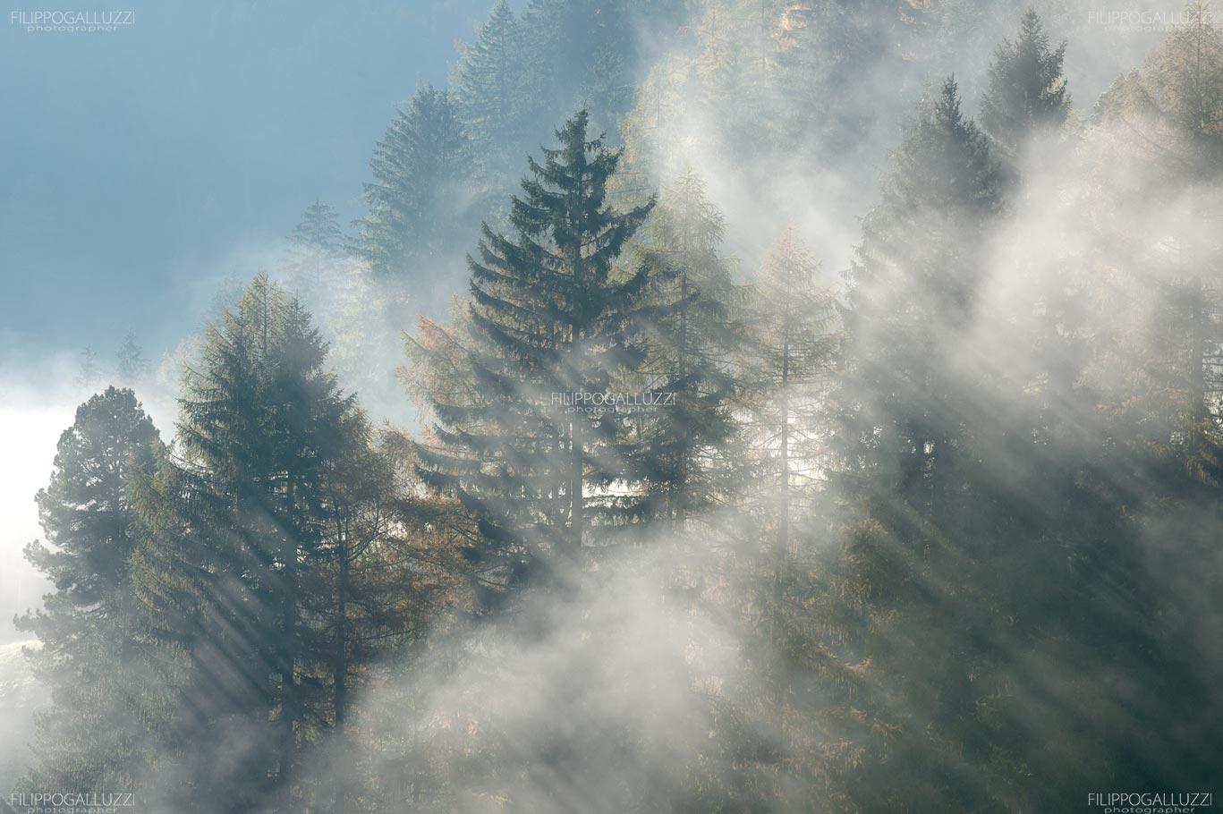 Nubi basse in montagna