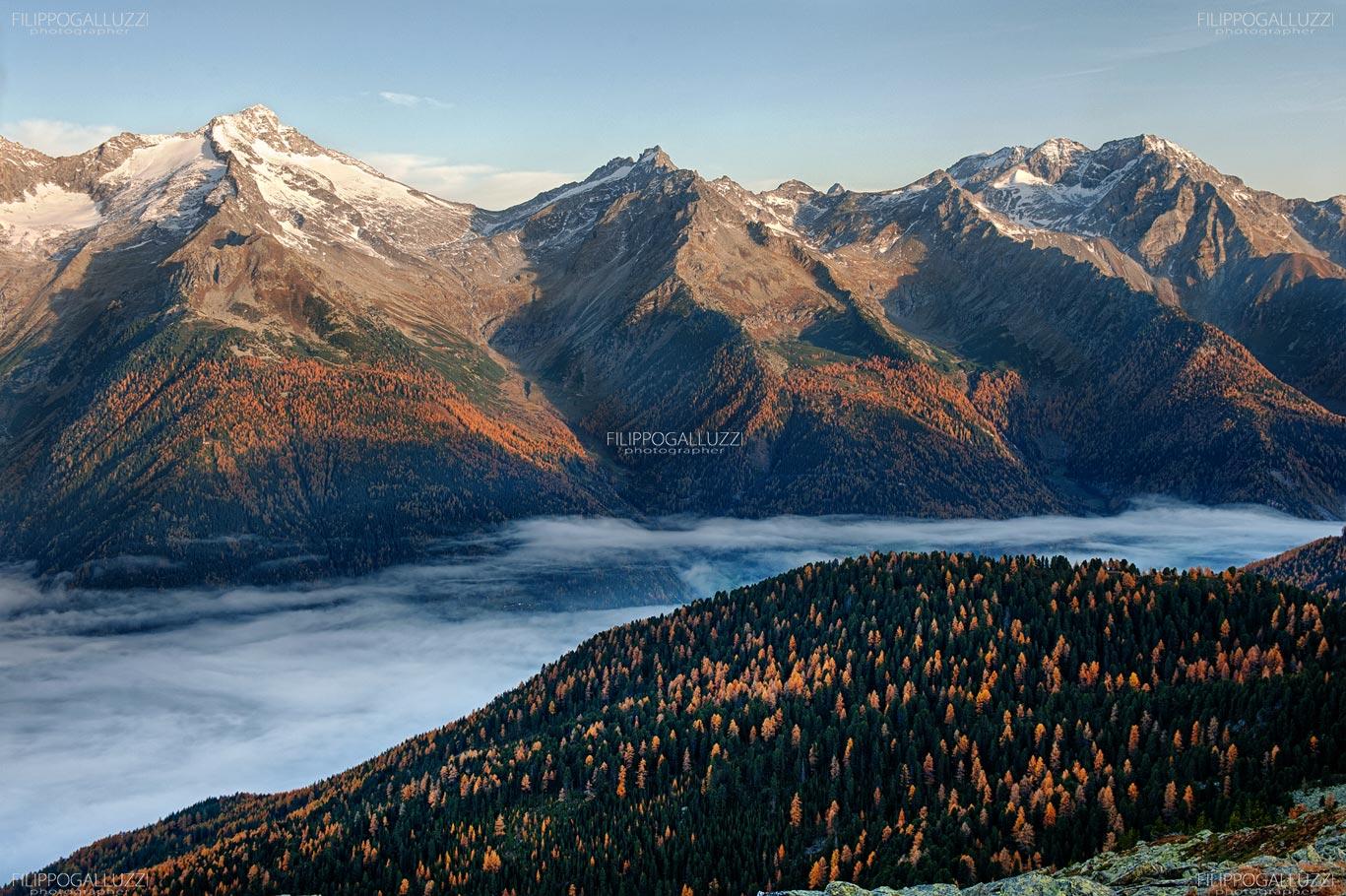 Il mare di nuvole, Ahrntal, Sudtirol