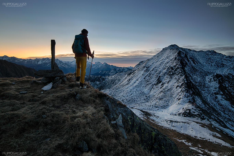 Lappach, aspettando i primi raggi del sole, Ahrntal