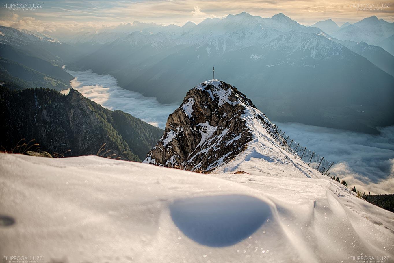 Aldto Adige, La valle Aurina dal monte schoenberg
