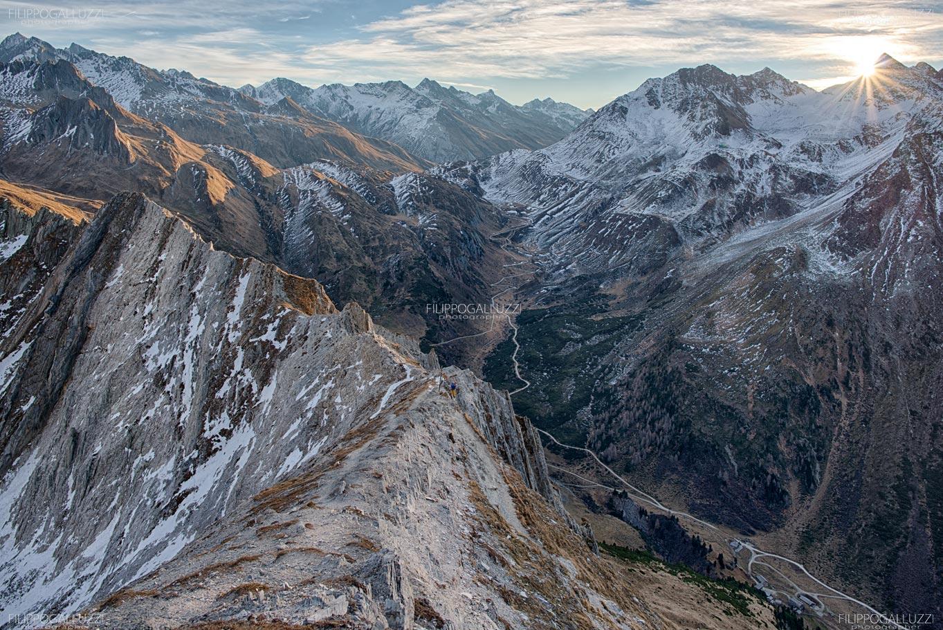Valle Aurina, Riva di Tures - la croda bianca
