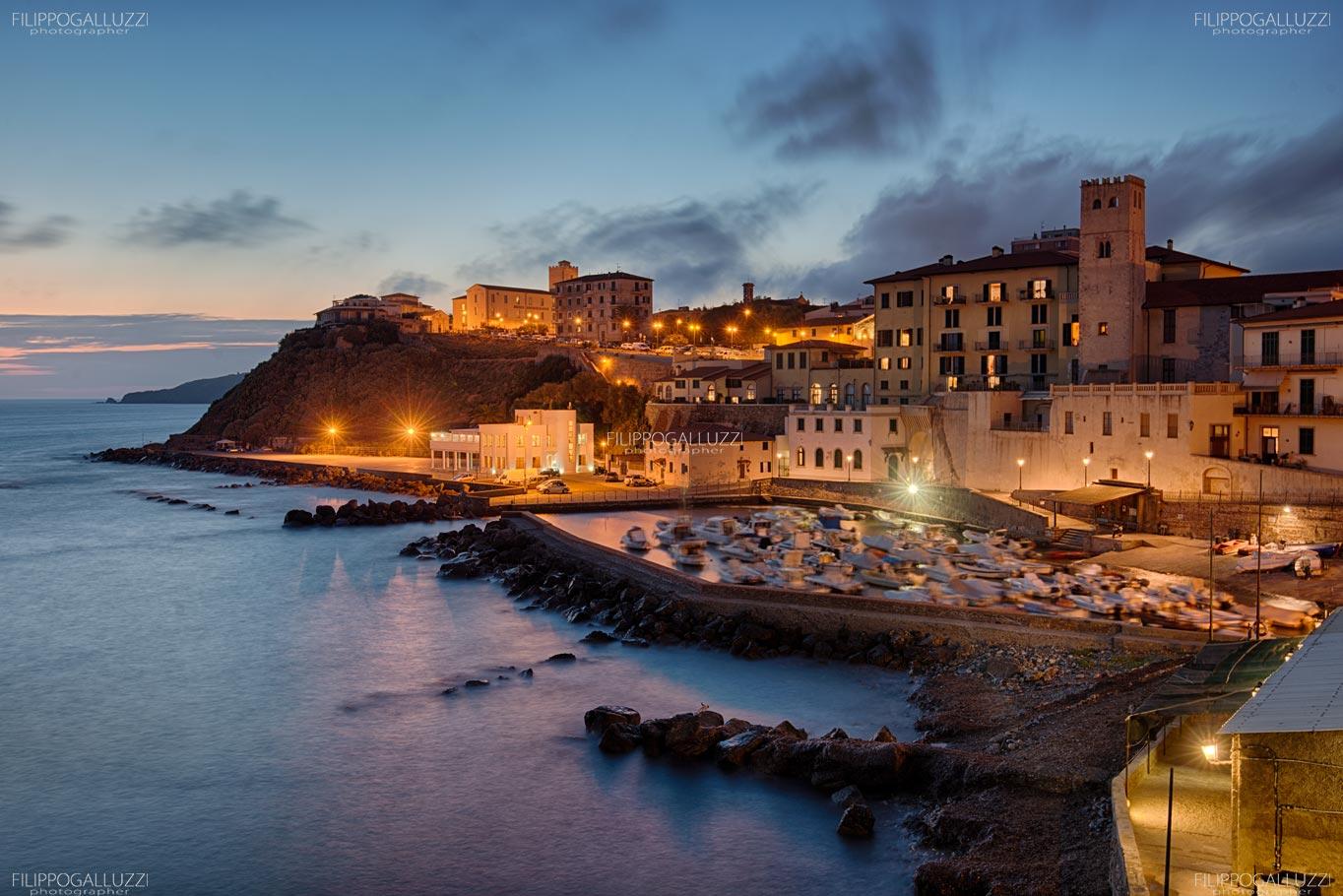 Toscana, antico porto di Piombino