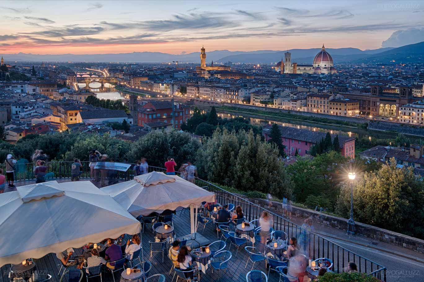 Firenze cityscape from piazzale Michelangelo
