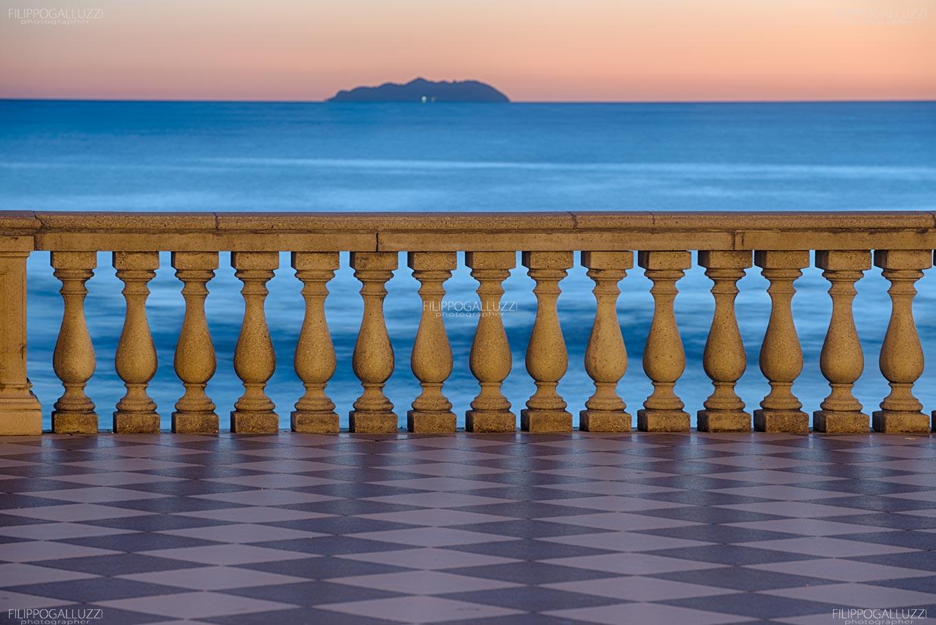 Toscana, Livorno, Terrazza Mascagni