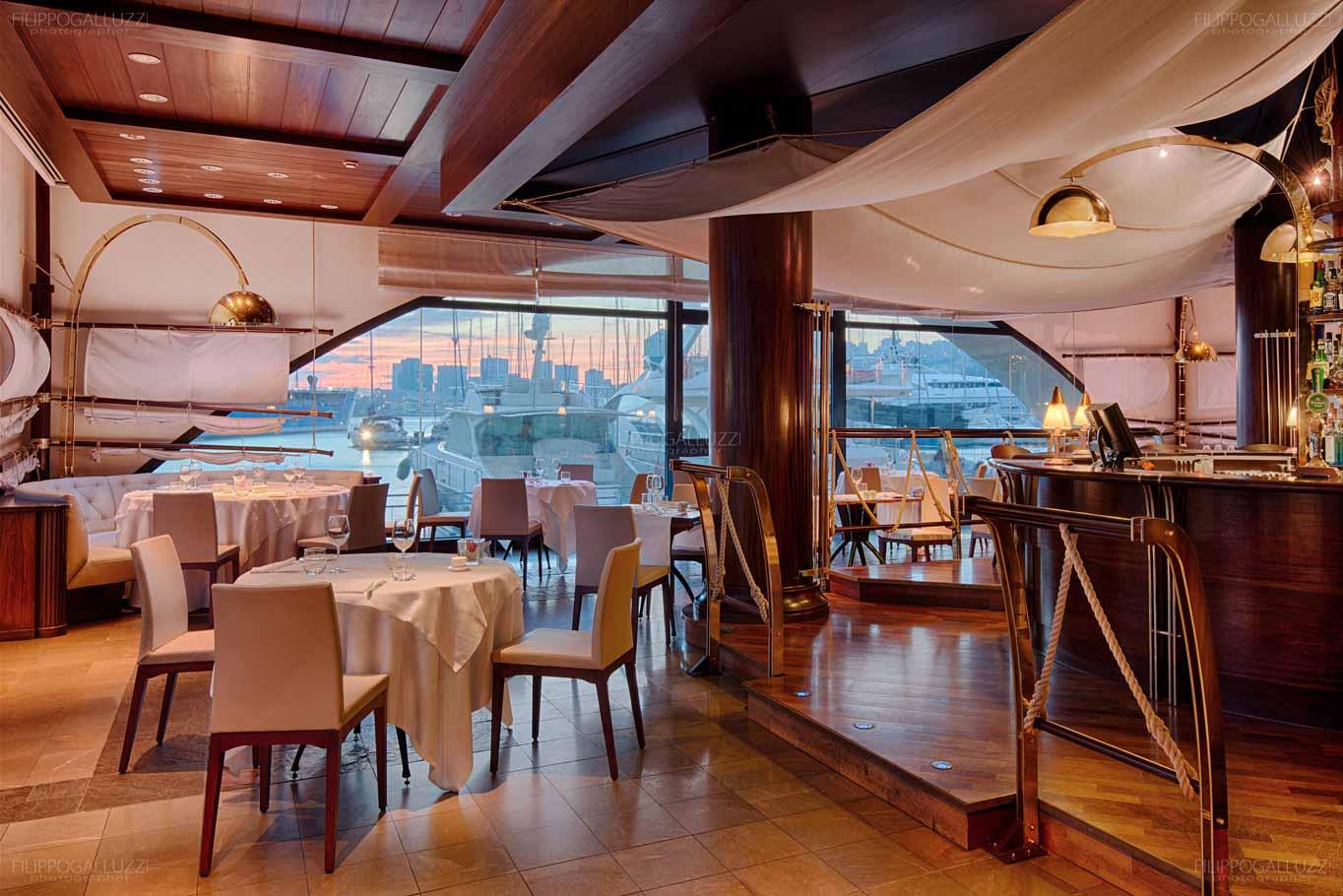 Genova, Hotel Marina, ristorante