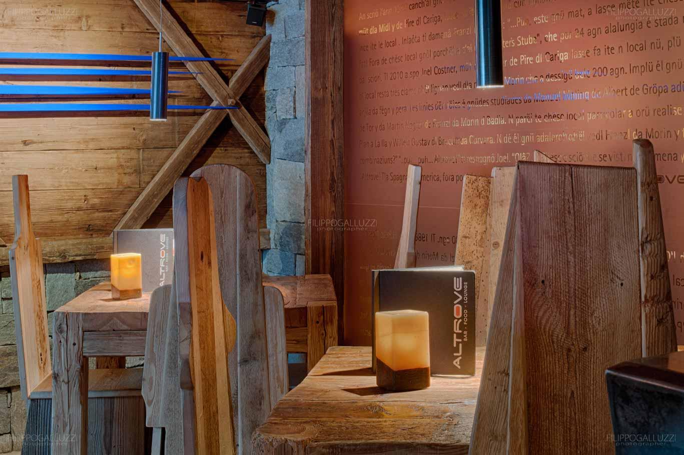 Dolomiti, Colfosco, Altrove Pub Alta Badia