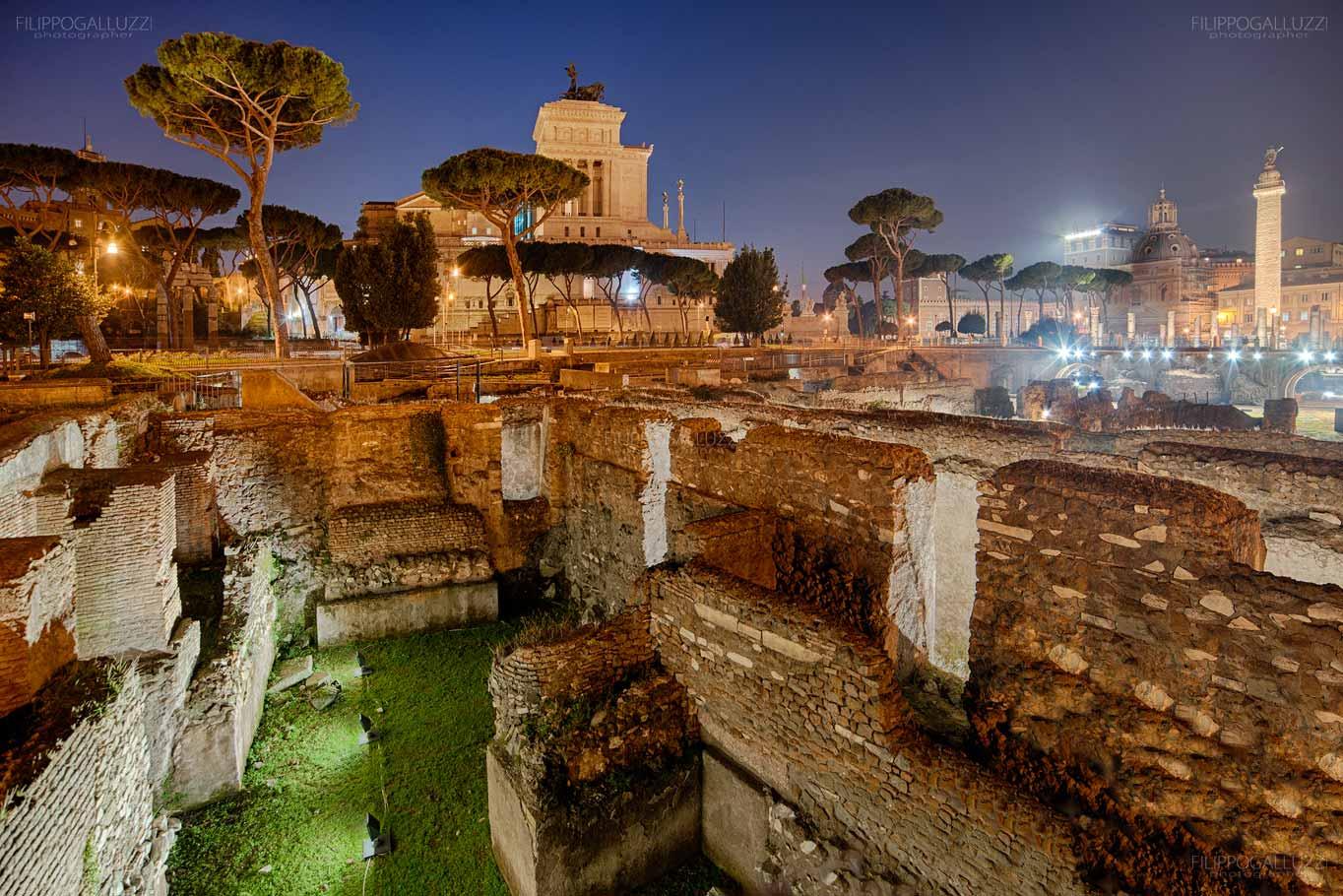 Roma, il foro di Traiano