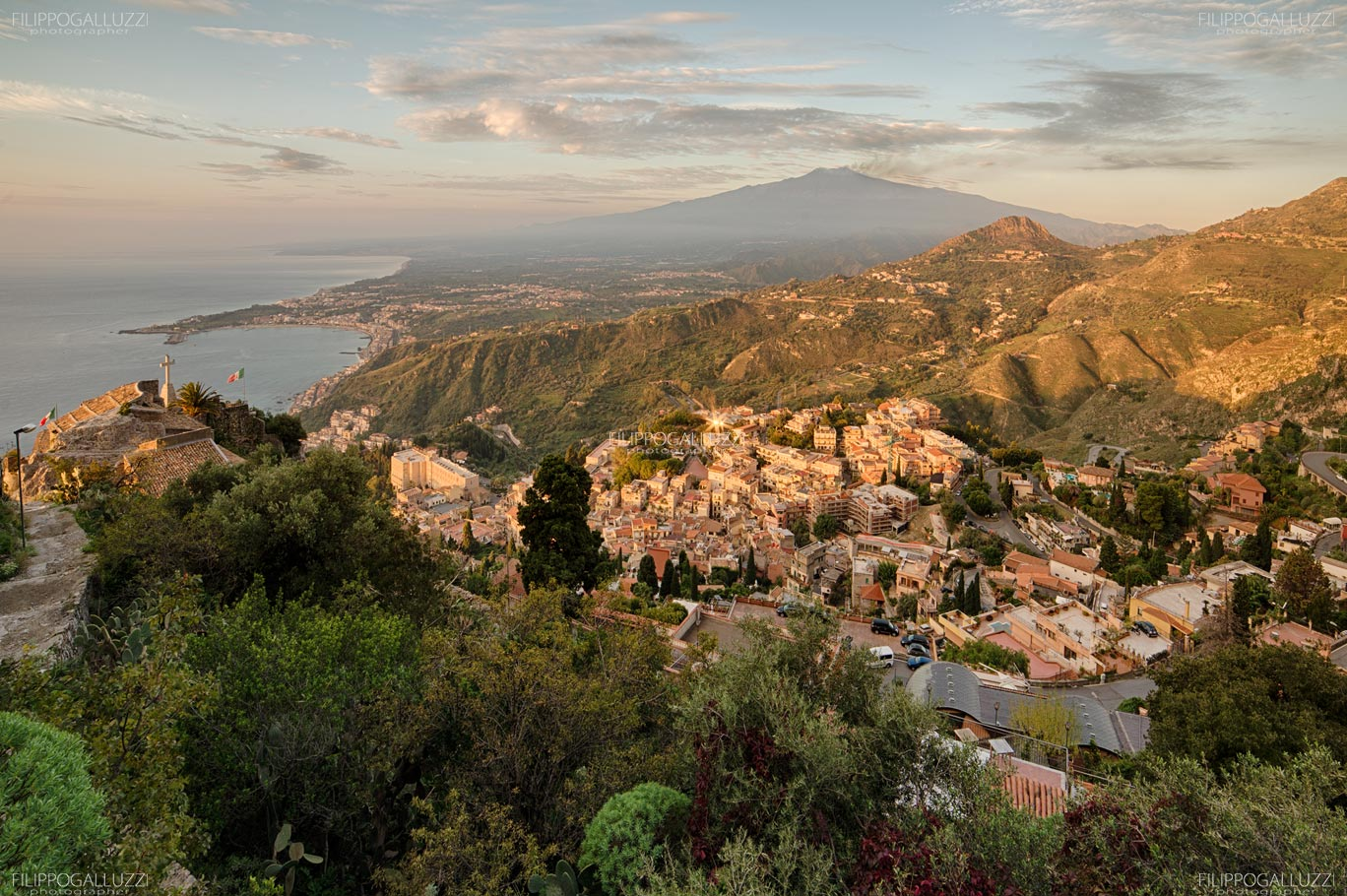 Sicilia, Taormina , Etna