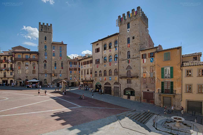 Arezzo, Piazza dei Vasari