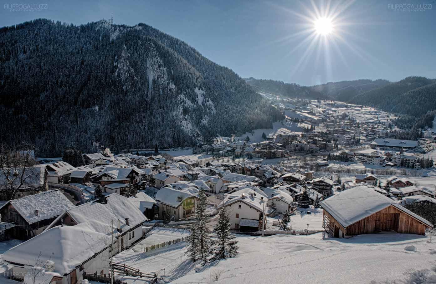 Dolomiti, Alto Adige, Corvara in inverno