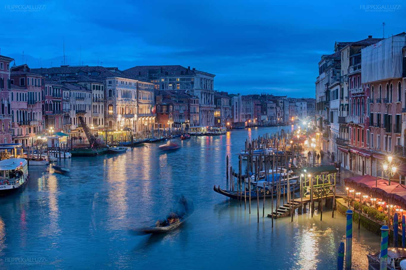 Venezia, Canal Grande da Ponte di Rialto