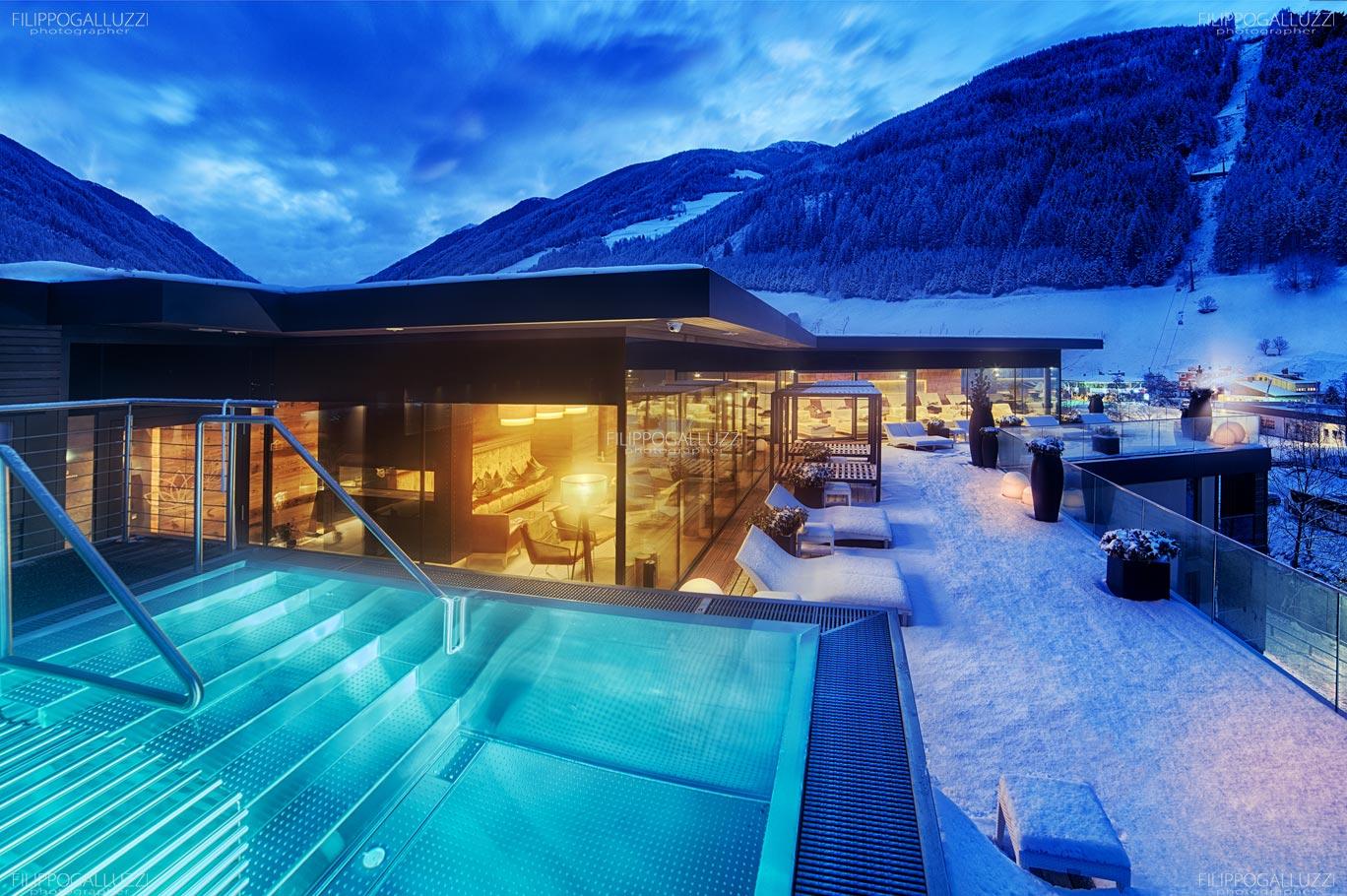 Fotografia Hotel Wellness Sky Pool Alpenschloessl & Linderhof Ahrntal