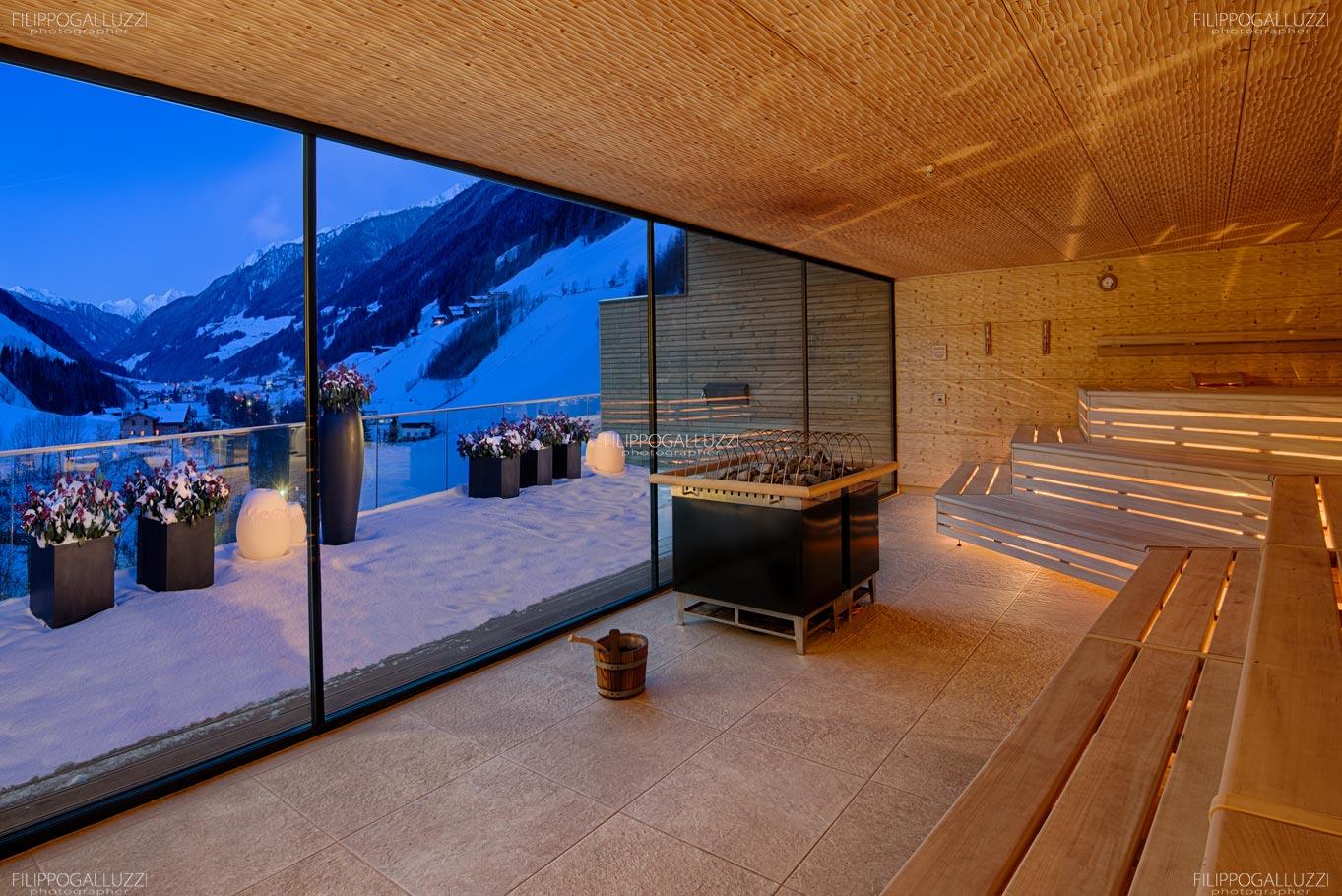 Fotografia Hotel Wellnes Panorama Sauna Alpenschloessl & Linderhof Ahrntal