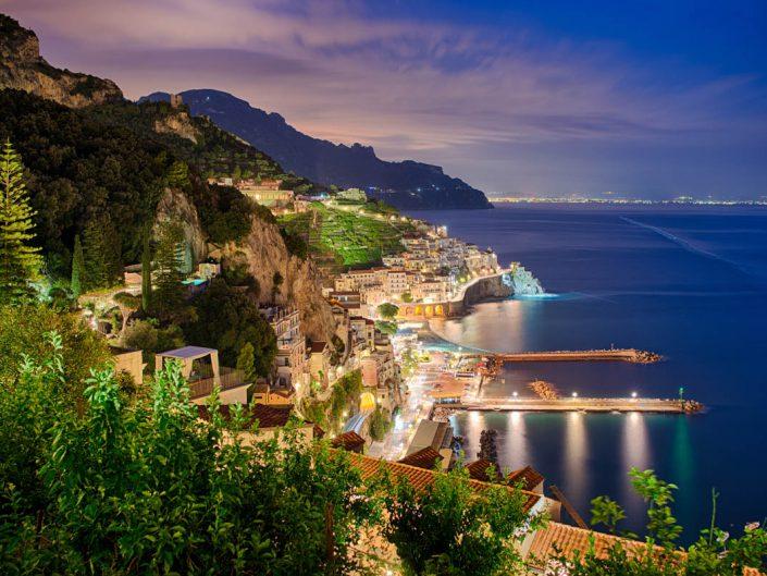 Amalfi by night