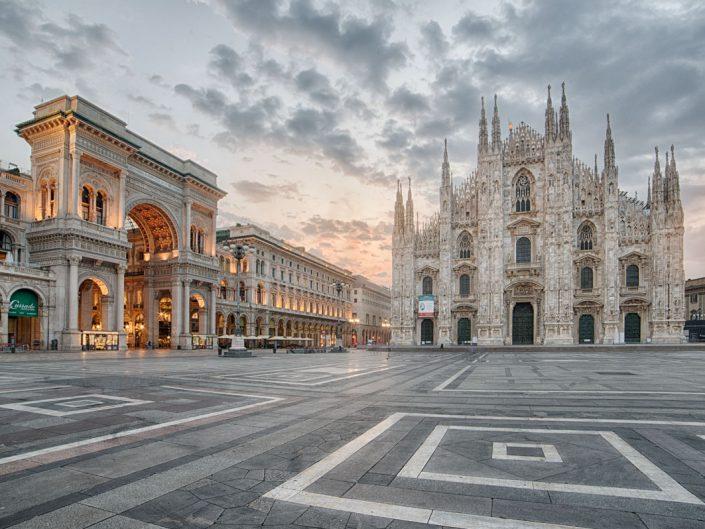 Destination Photographer Milano, Piazza del Duomo