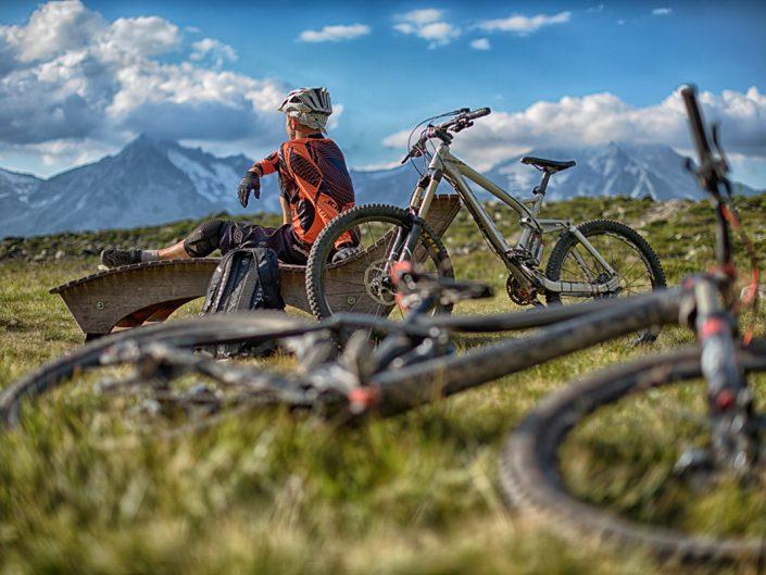 Mountain bike shooting Skiarena Klausberg