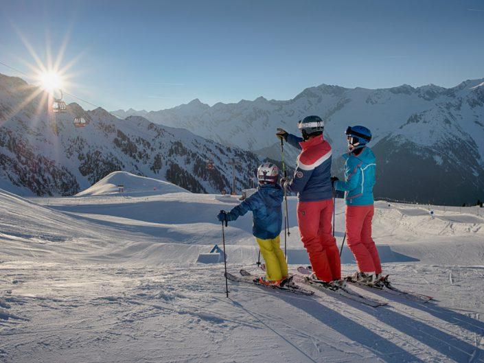 Sciare al Klausberg in Ahrntal