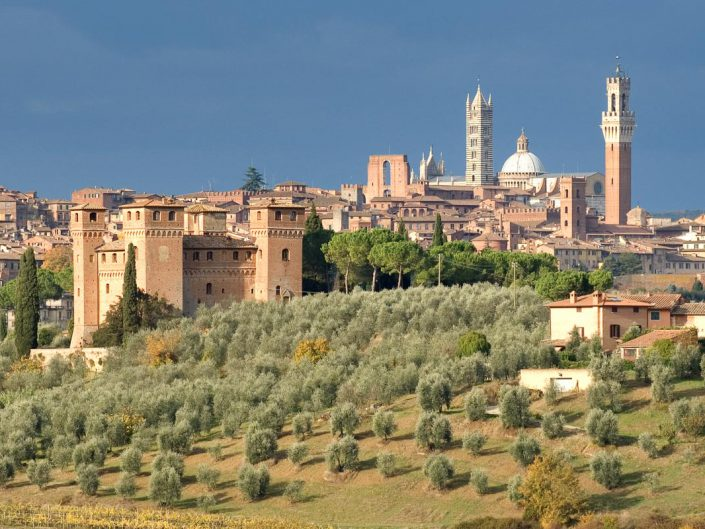 Veduta panoramica di Siena