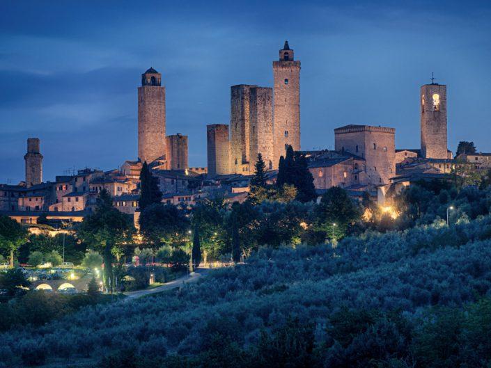 Toscana, le totti di San Gimignano