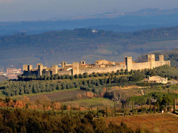 Monteriggioni dalla Montagnola Senese