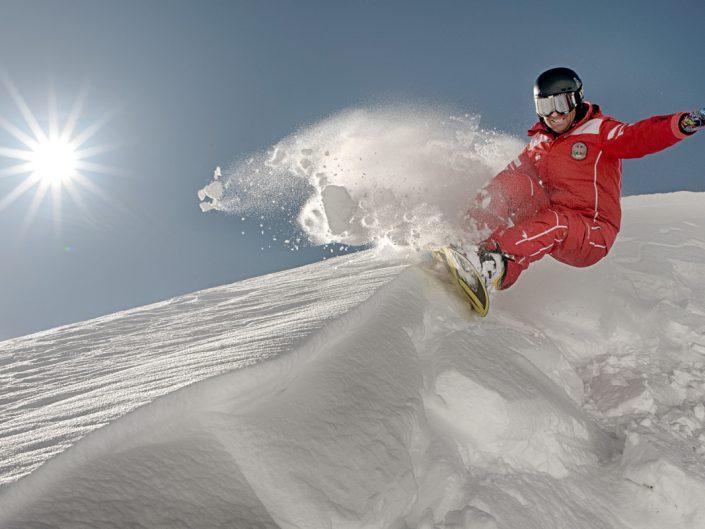 Turismo sulla neve, scuola di sci Speikboden