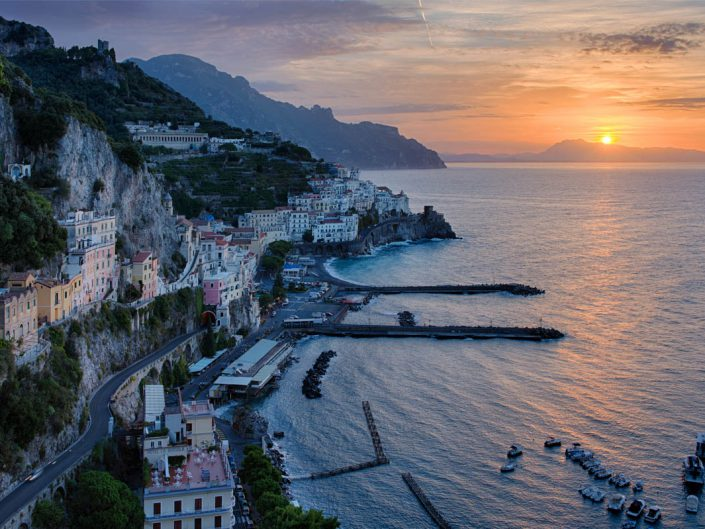 Alba su Amalfi