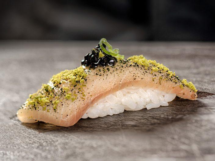 Food photography sushi