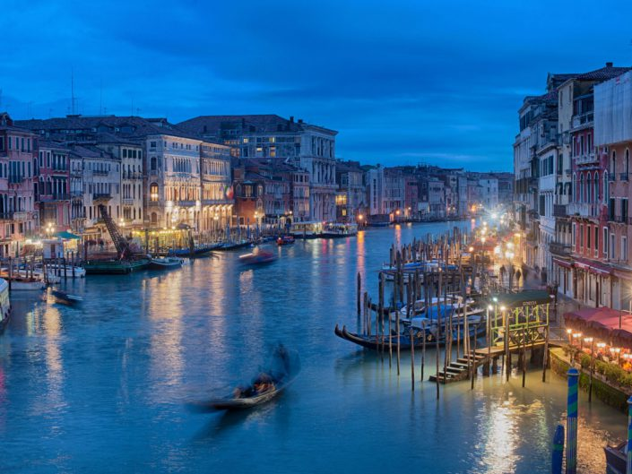 Veduta di Venezia dal Ponte di Rialto