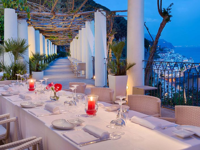 Hotel Convento Amalfi Restaurant