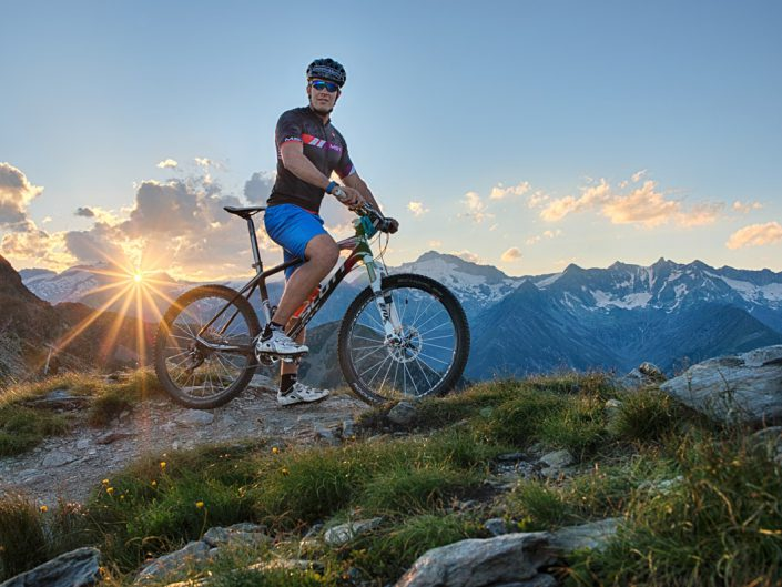 Christof Innerhofer Bike for Speikboden